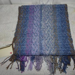 Judi Gaston Handwoven Oblong Scarf